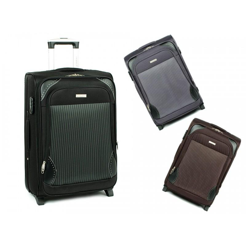fbafdd71f521d Mała walizka kabinowa na dwóch kółkach