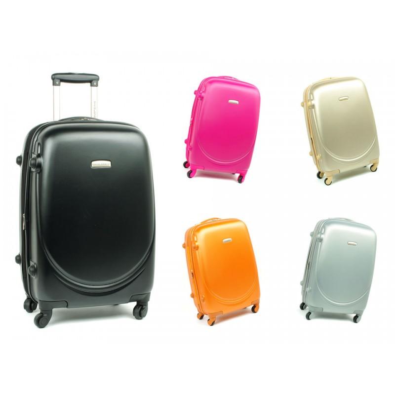 d6d27cf7b5ee8 Mała walizka na czterech kółkach ABS z zamkiem TSA David Jones ...