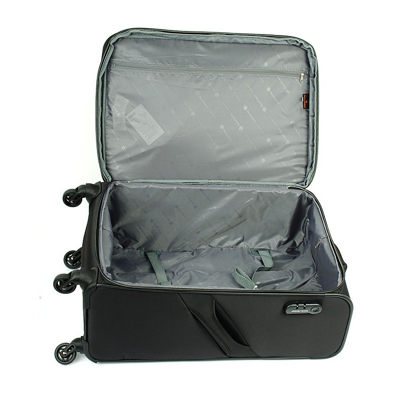 8725328f153a4 ... Duża lekka walizka na czterech kółkach David Jones 5043 ...