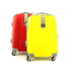 Mała walizka kabinowa 4 kółka ABS