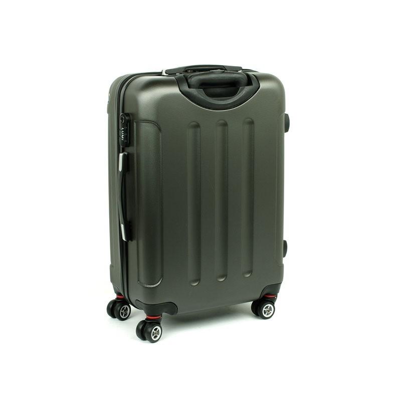 629075c1546c8 ... Duża walizka na 4 podwójnych kółkach ABS LUMI ...