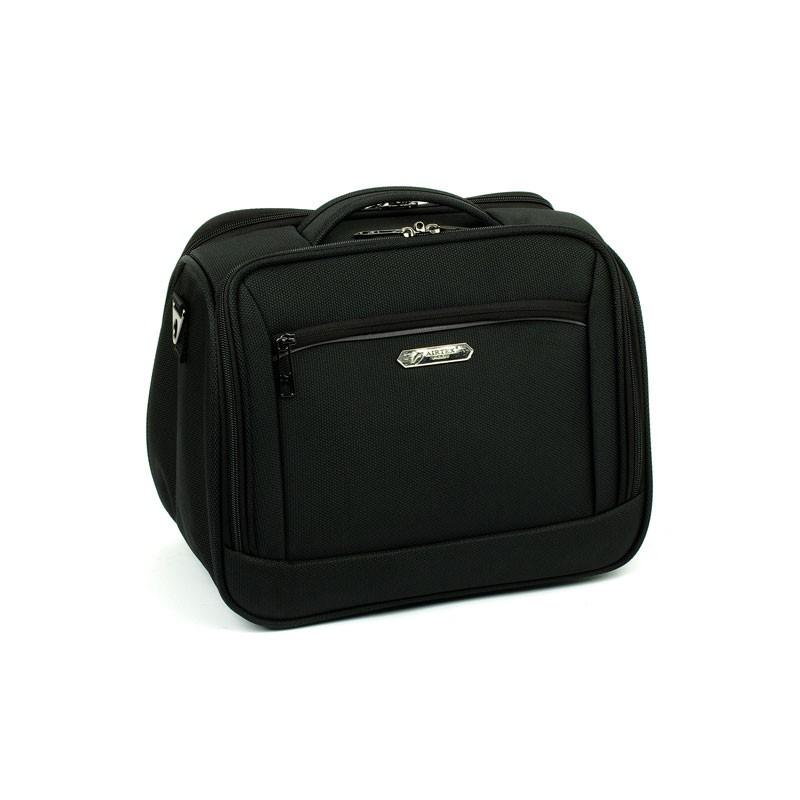 5b1021fa81d23 Duża kosmetyczka podróżna, elegancki kuferek na kosmetyki AIRTEX ...