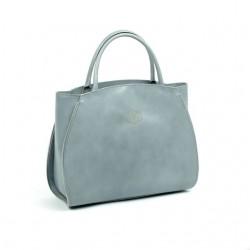 Damska torebka skórzana shopper bag włoska A4
