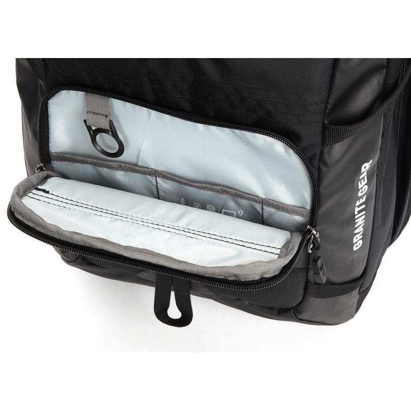 32f343611f126 Wodoodporny plecak turystyczny na kółkach 2w1 Granite Gear.