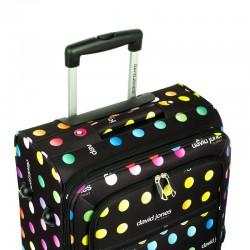 David Jones Średnia walizka na czterech kółkach 5017