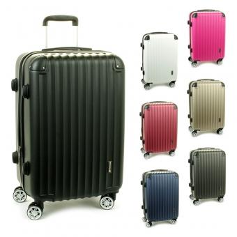 622SU walizki średnie podróżne na kółkach ABS