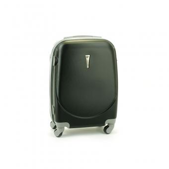 606 Mała walizka kabinowa ABS do samolotu czarna