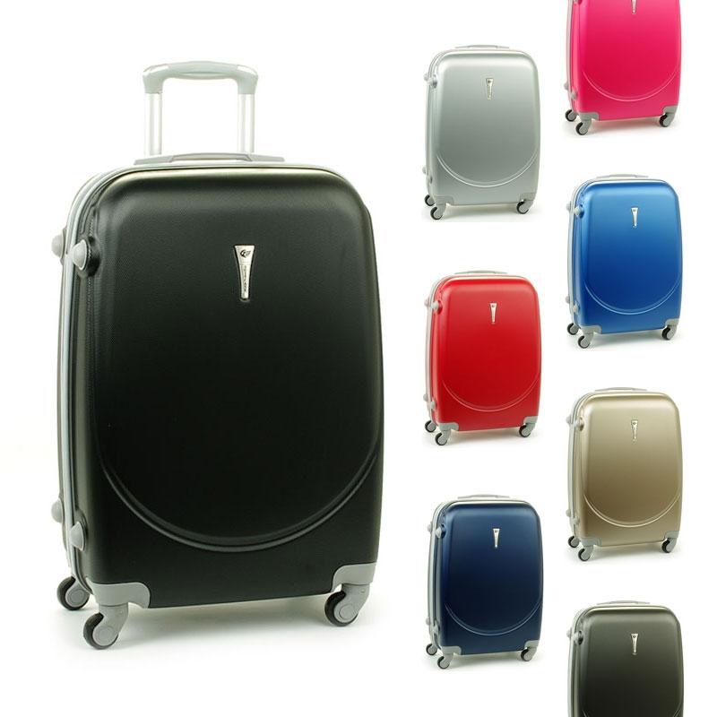 606 średnie walizki podróżne ABS