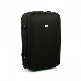 4010 duża walizka z materiału czarna