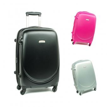 8821 David Jones Średnie walizki podróżne ABS z zamkiem TSA