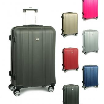 1028 David Jones Duże walizki podróżne na kółkach ABS