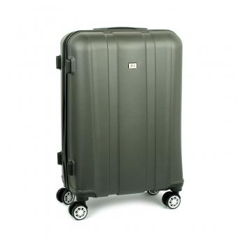 1028 David Jones Duża walizka podróżna na kółkach ABS stalowa