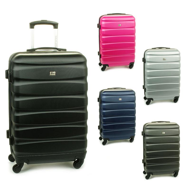 1030 David Jones Duże walizki podróżne na kółkach ABS
