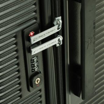 1013 David Jones Średnia walizka podróżna z zamkiem TSA