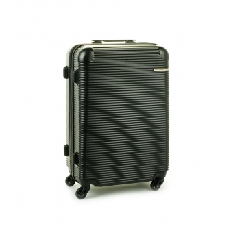 1013 David Jones Mała walizka podróżna z zamkiem TSA czarna