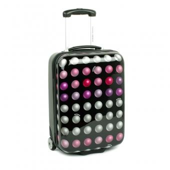 2021 Mała walizka podróżna w kropki - David Jones