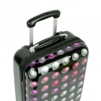 2021 Mała walizka podróżna w duże kropki - David Jones