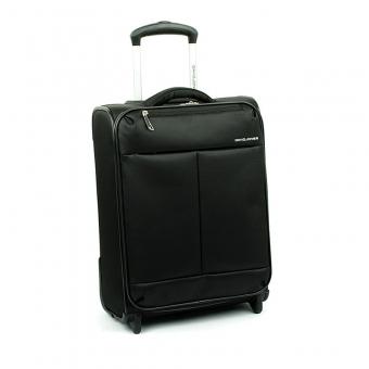 5043 Mała lekka walizka do samolotu kabinówka - David Jones czarna