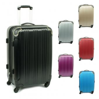 40106 Duże walizki podróżne na kółkach ABS - Madisson