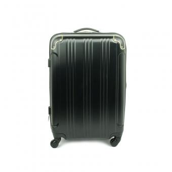 40106 Duża walizka podróżna na kółkach ABS - Madisson czarna