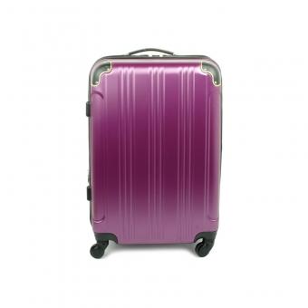 40106 Duża walizka podróżna na kółkach ABS - Madisson fioletowa