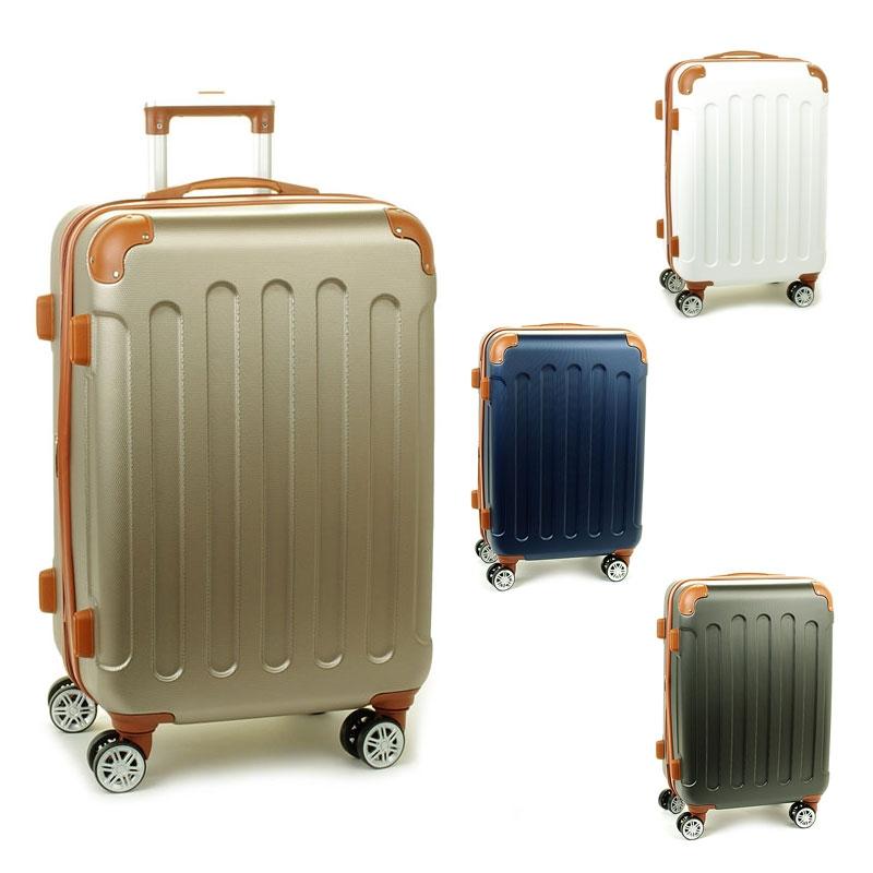 88603 Duże walizki podróżne na kółkach ABS - Madisson
