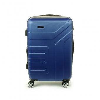 87104 Bardzo duża walizka podróżna na kółkach XL - Madisson granatowa
