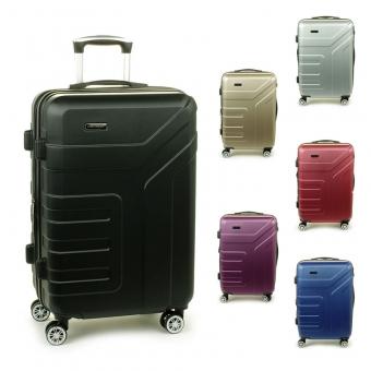 87104 Duże walizki podróżne na kółkach ABS - Madisson