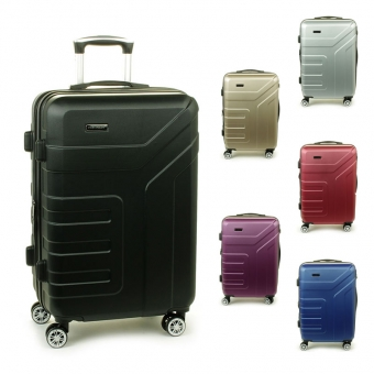 87104 Średnie walizki podróżne na kółkach ABS - Madisson