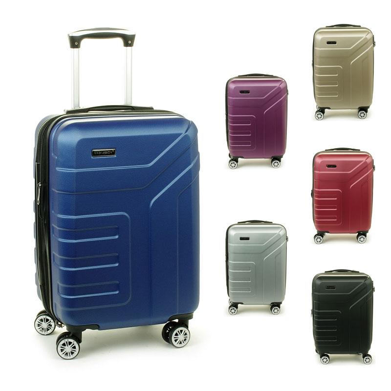 87104 Małe walizki podróżne na kółkach ABS - Madisson