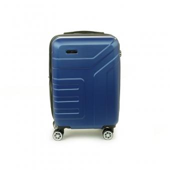 87104 Mała walizka podróżna na kółkach ABS - Madisson granatowa