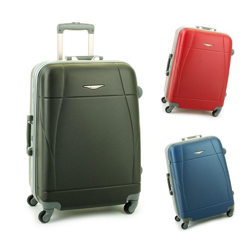 87004 Duże walizki podróżne ABS na zatrzaski - Madisson