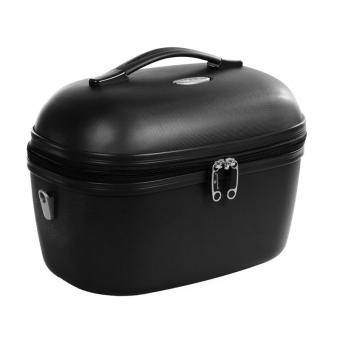 Kuferek na kosmetyki, kosmetyczka podróżna do walizki - Snowball 31935 czarny