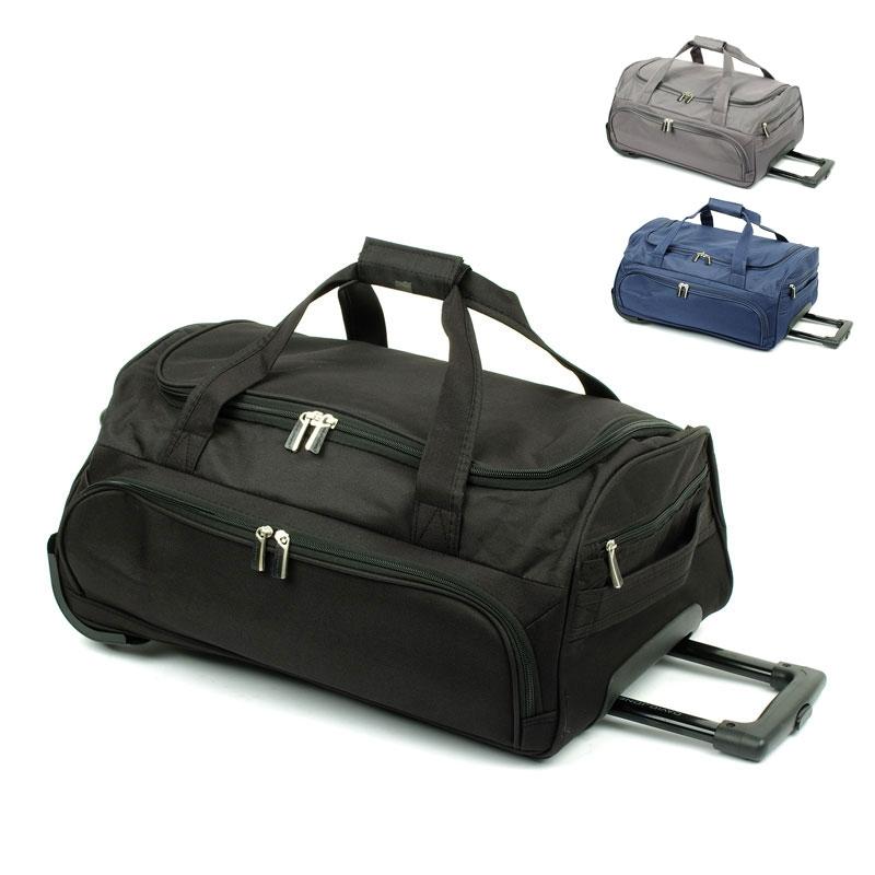 B999 Małe torby podróżne na kółkach miękka - David Jones