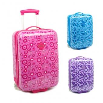 65218 Małe walizki na kółkach dla dzieci - Snowball