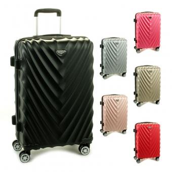 93503 Duże walizki podróżne na kółkach twarde - Madisson