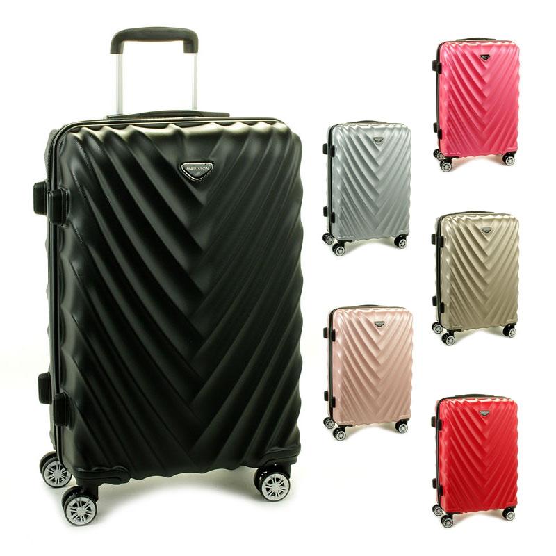 93503 Średnie walizki podróżne na kółkach twarde - Madisson
