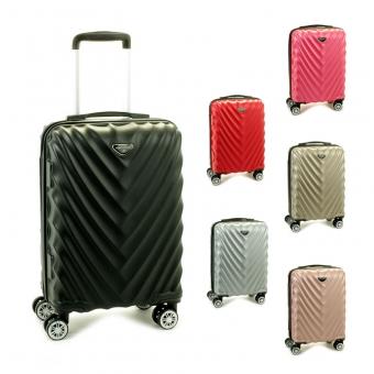 93503 Małe walizki podróżne na kółkach twarde - Madisson