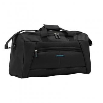 51170 Średnia torba podróżna materiałowa do ręki - Madisson czarna