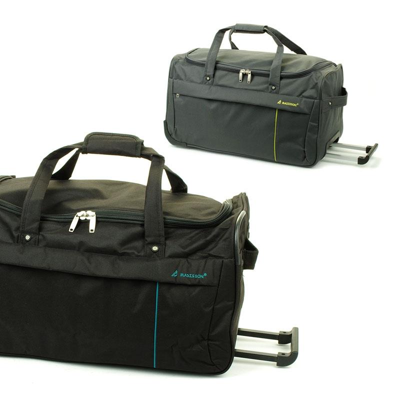 35762 Średnie torby podróżne na kółkach miękkie - Madisson