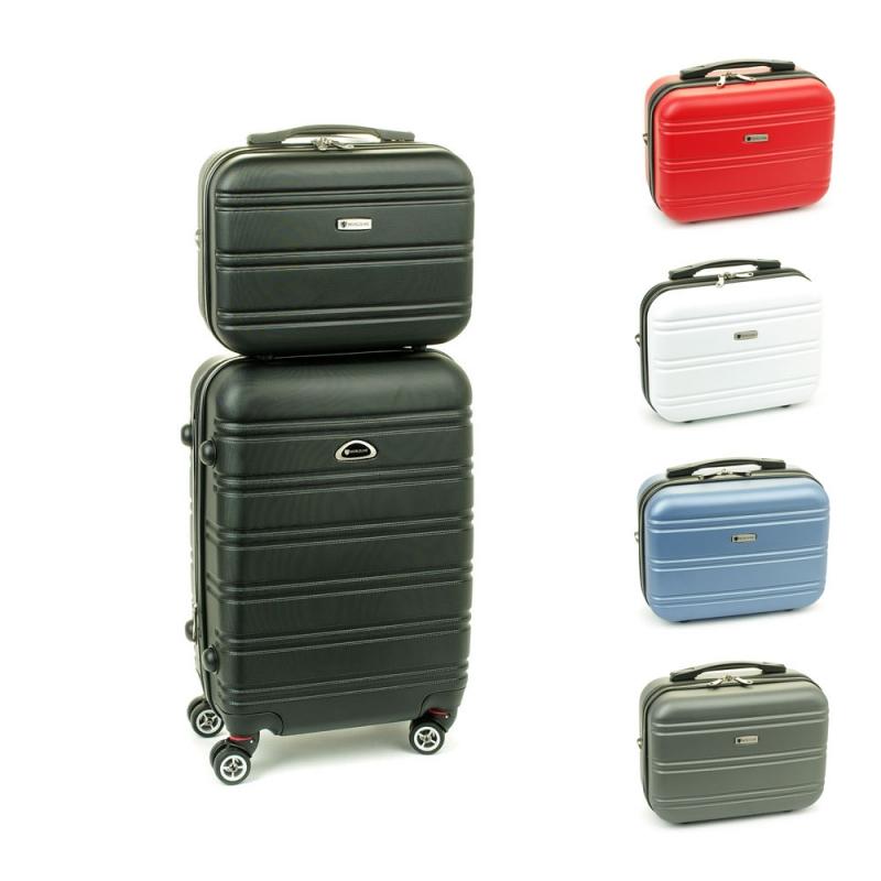 531/2 Zestaw mała walizka plus kosmetyczka podróżna - Airtex