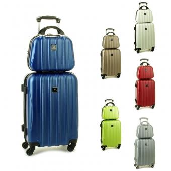 80002 Zestaw mała walizka plus kosmetyczka podróżna - Madisson