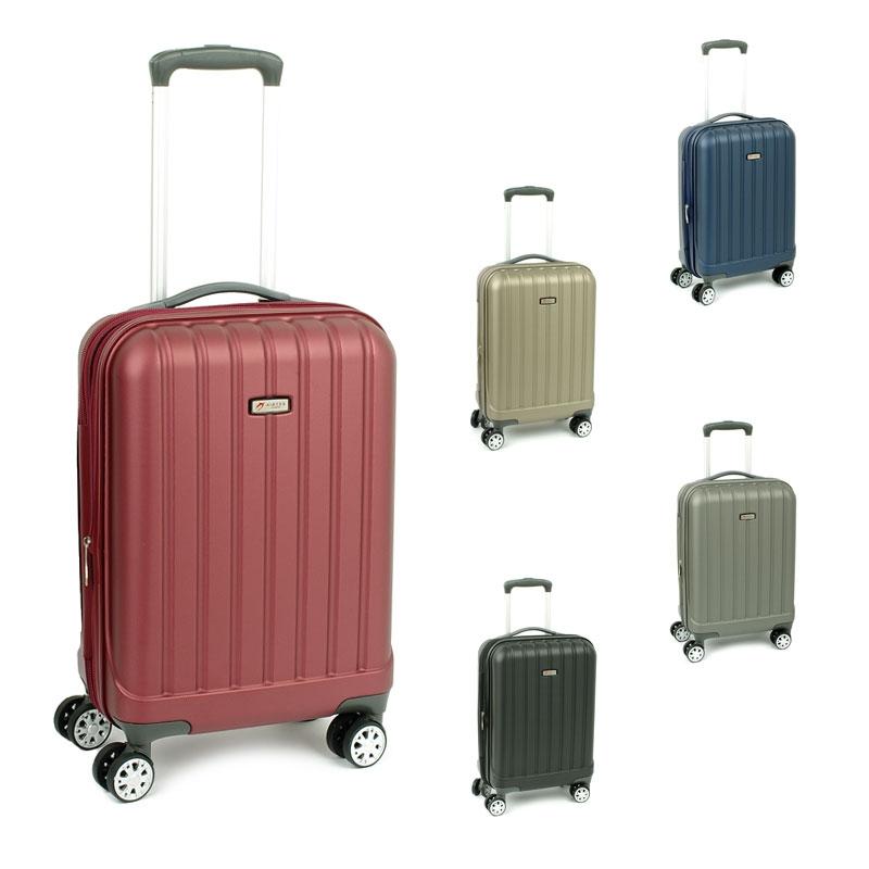 938/20 Małe walizki do samolotu kabinowe poliwęglan TSA - Airtex