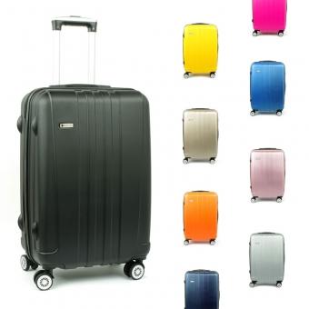 602 Duże walizki podróżne na czterech kółkach twarde ABS - Airtex