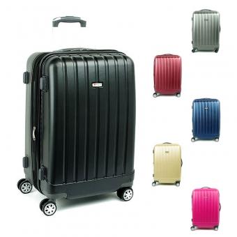 938 Duże walizki podróżne z poliwęglanu na kółkach TSA - Airtex