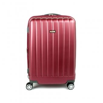 938 Mała walizka na kółkach kabinowa poliwęglan TSA - Airtex bordowa