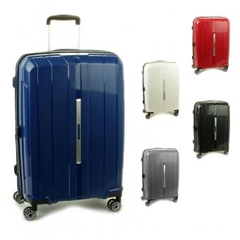 83803 Średnie walizki podróżne na kółkach polipropylen TSA - Snowball