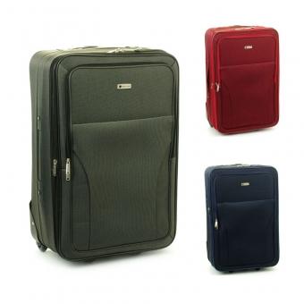 515 Duże materiałowe walizki podróżne na kółkach, tanie - Worldline