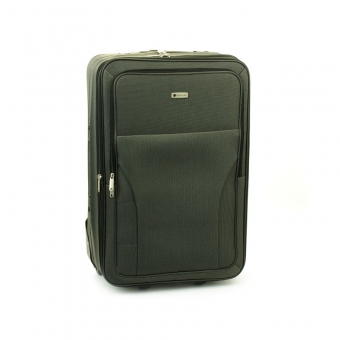 515 Mała materiałowa walizka podróżna kabinowa tania - Worldline szara