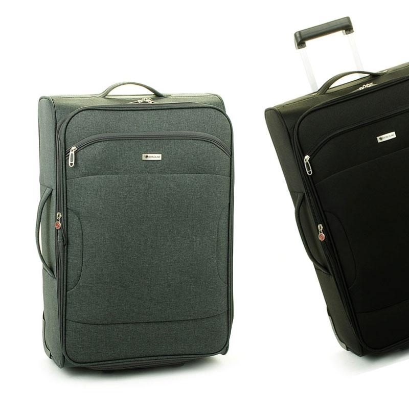 523 Średnie walizki podróżne na kółkach z materiału - Madisson